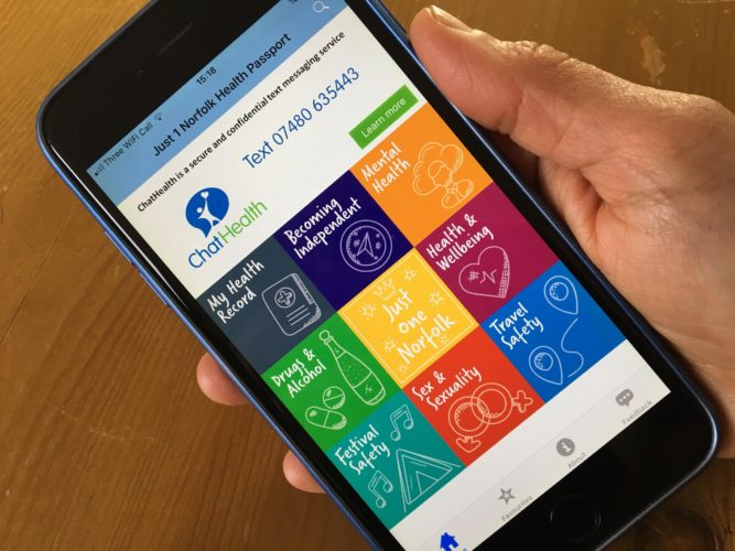 Just One Norfolk Health Passport App