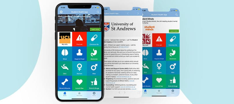 Customise apps for your uni