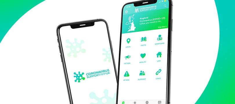 NEW: Coronavirus Support App