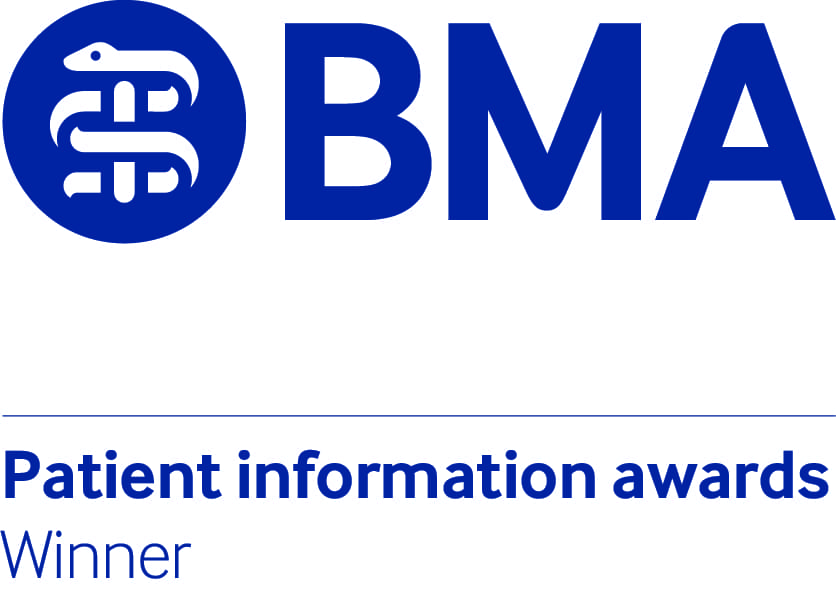 BMA Patient Information Awards - Winner