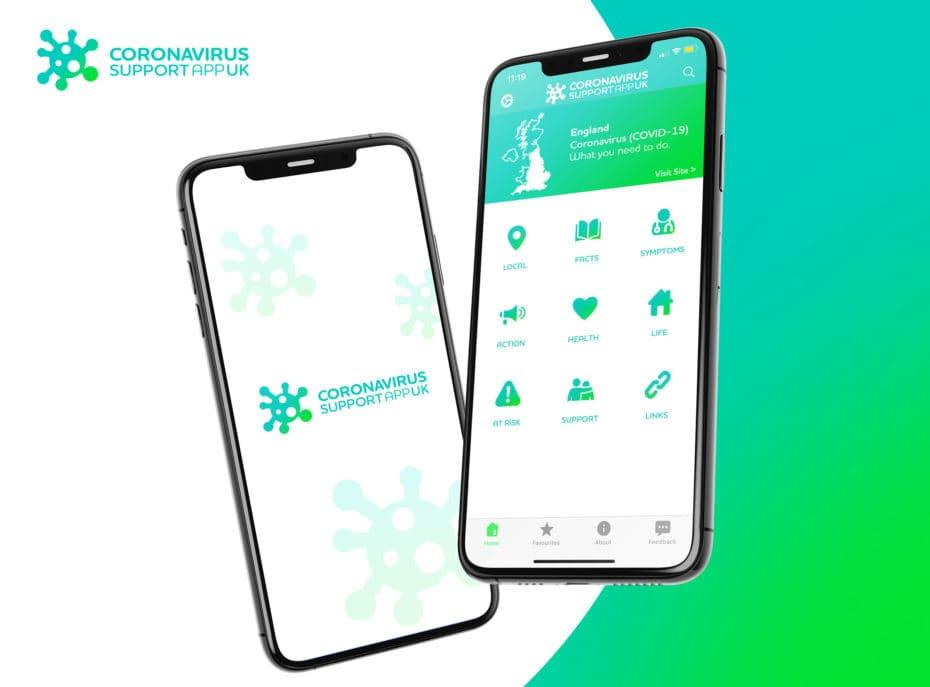 Coronavirus Suport App (UK)