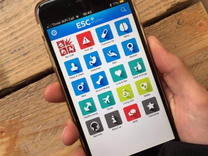 ESC Student Health app